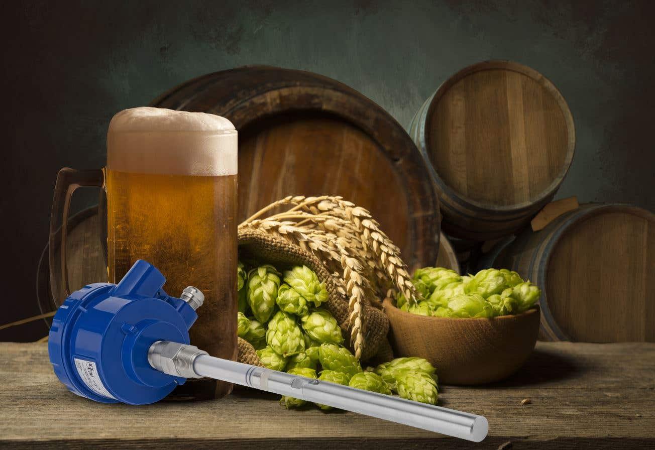 Сигнализация уровня при производстве пива