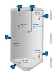 Применение ротационного сигнализатора уровня RN 4001