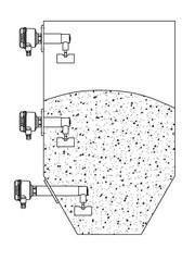 Применение ротационного сигнализатора уровня RN 6003