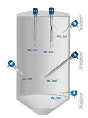 Применение вибрационного сигнализатора уровня VN 1030