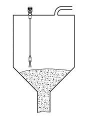 Применение вибрационного сигнализатора уровня VN 1050