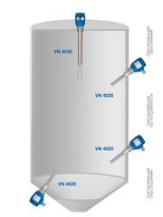 Применение вибрационного сигнализатора уровня VN 4040