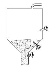 Применение вибрационного сигнализатора уровня VN 5020