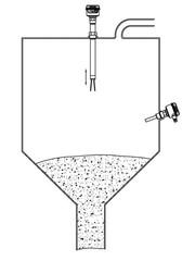 Применение вибрационного сигнализатора уровня VN 5030